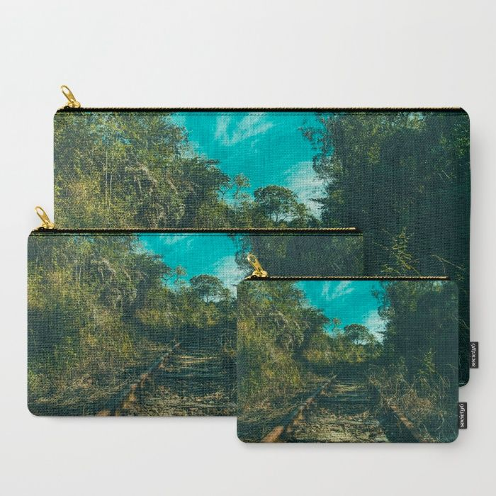 Abandoned Carry-All Pouch by Mixed Imagery | Society6