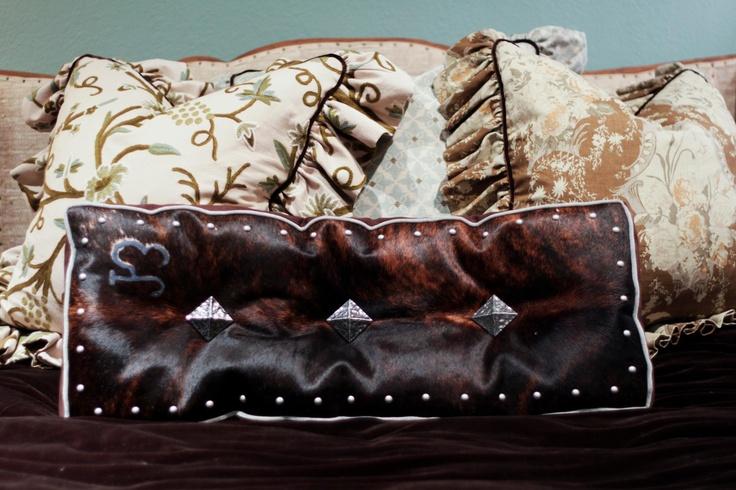 Sundance Etta Pillow With Com Hide My Moon Rein Bedding