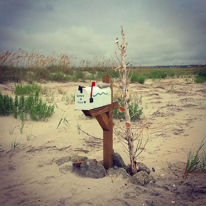 Those simple words written on the outside of a mailbox launched an 11-year love story at Wrightsville Beach, North Carolina.
