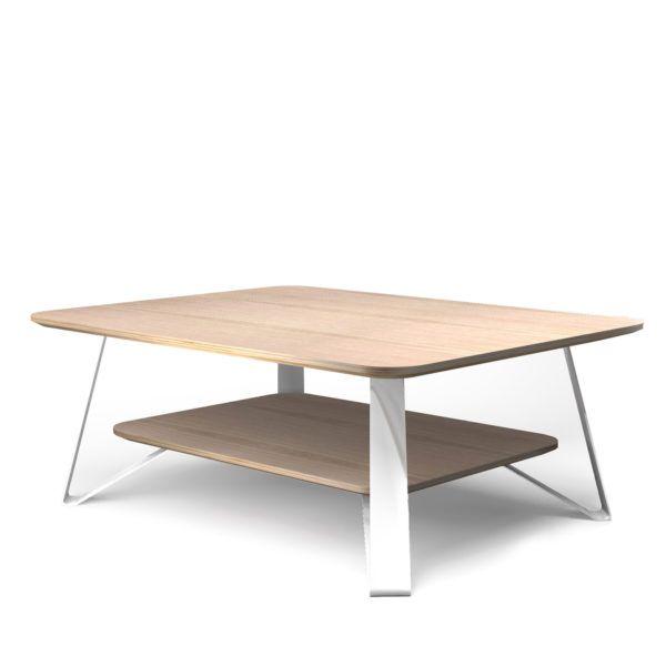 Bahut Chene Blanc Design Scandinave Victor Audrey Savelon Coffee Table Table Furniture