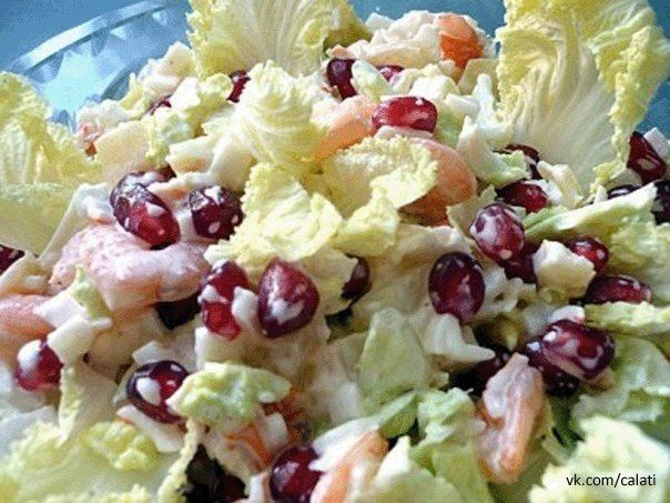 Salad *Amur's arrow*  very light , fresh. Full recipe http://kawaisweets.com/salad-cupids-arrow/
