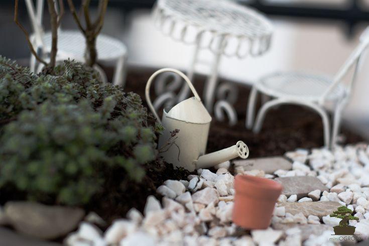 Miniogrody, Miniogród – tworzenie ogródków w skali.