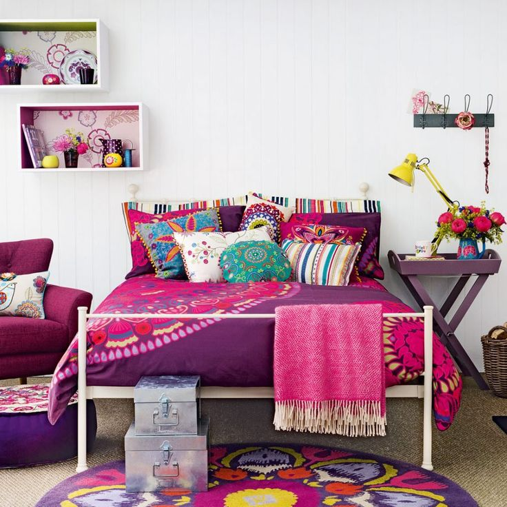 Bedroom Teenage Small Girls Room Purple Large Size: 17 Best Ideas About Purple Teen Bedrooms On Pinterest
