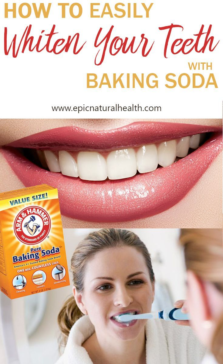 How to Whiten Your Teeth and Remove Stains with Baking Soda & Lemon Juice