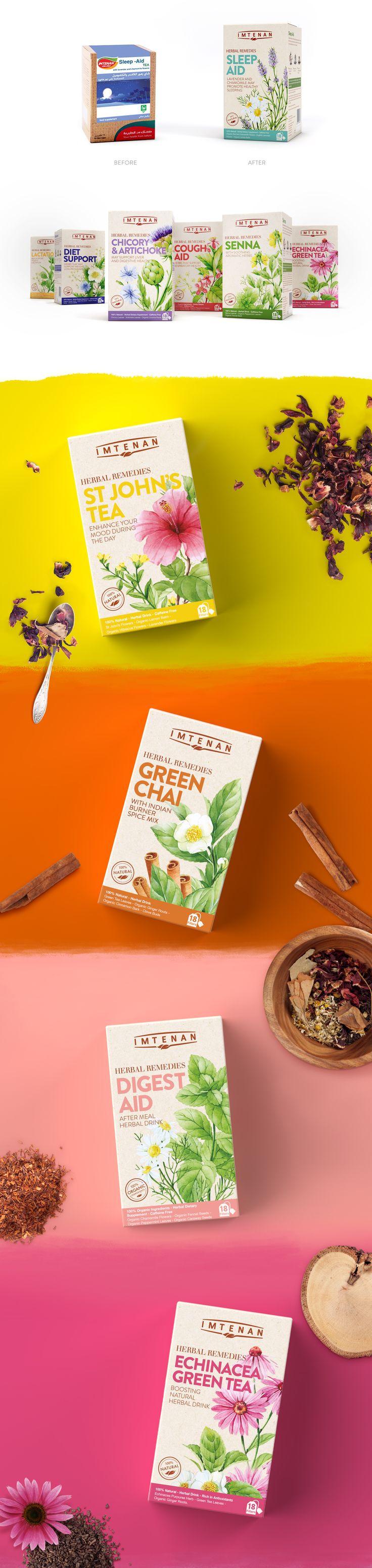 Imtenan Herbal Remedies — The Dieline - Branding & Packaging