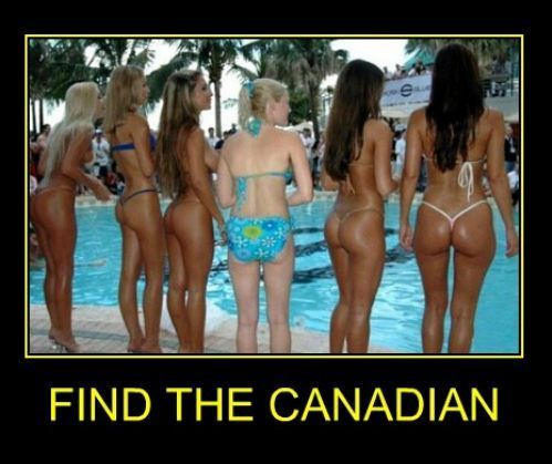 hehe, they don't call it the great white north for nothin'