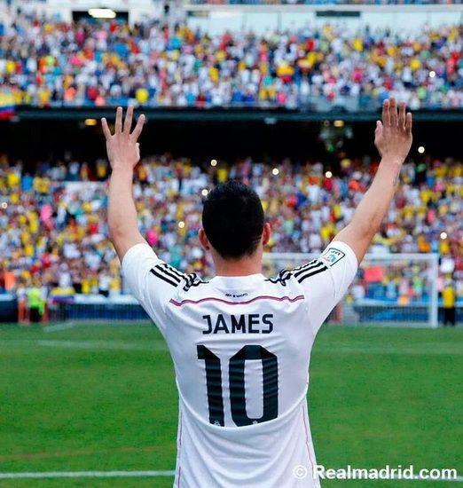 JAMES Real Madrid 2014 2015