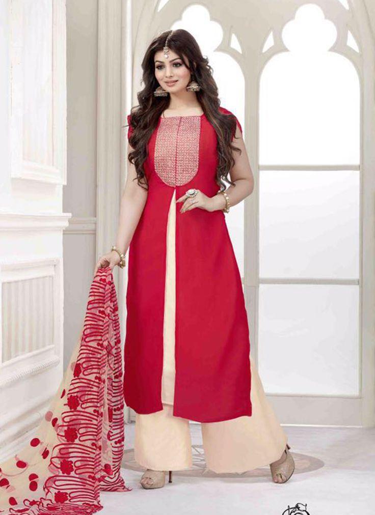 Excellent Churidar #SalwarKameez Collection  Buy Now @ http://www.suratwholesaleshop.com/Party-Wear-Georgette-Anarkali-Salwar-Suit-catalog-2001?view=catalog  Whats App @ +91-7622968934
