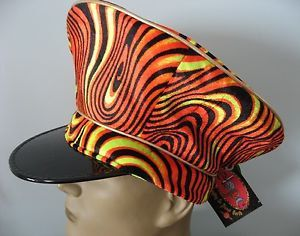 Adult Psychedelic Space Captain Hat ELOPE by PsychedelicGarden