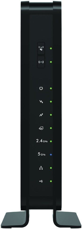 NETGEAR C3700 Wi-Fi Cable Modem Router N600 (Certified Refurbished)