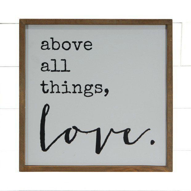 """Above All Things"" Wall Art"