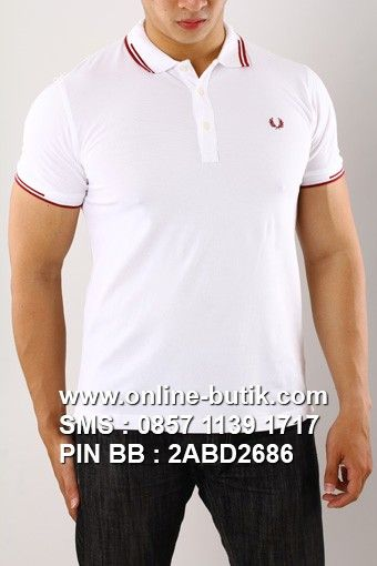 POLO SHIRT FRED PERRY PREMIUM | Kode : PSP FRED PERRY 10 | Rp. 220,000