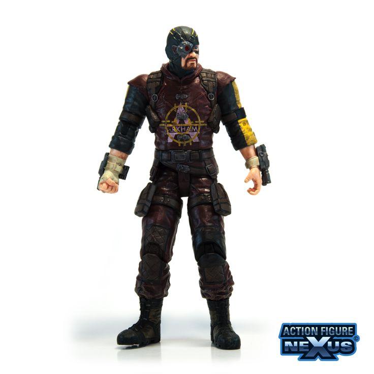DC Direct Batman Arkham City Series 4 Deadshot Action Figure