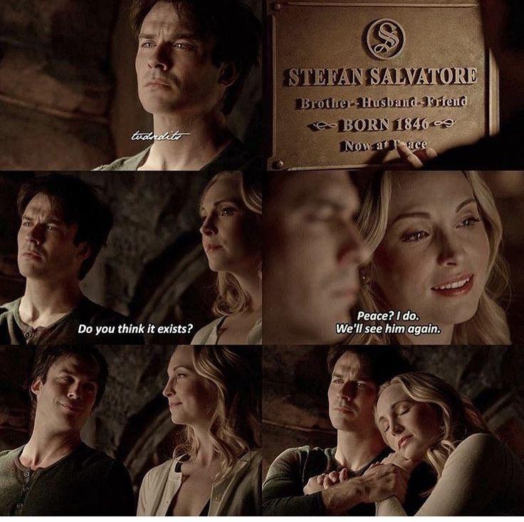"""#TVD 8x16 """"I Was Feeling Epic"""" - Damon and Caroline"""