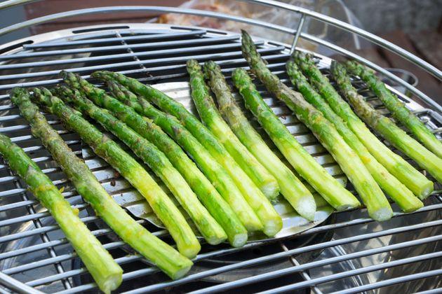 awesome Asparagi alla griglia (grilled asparagus)