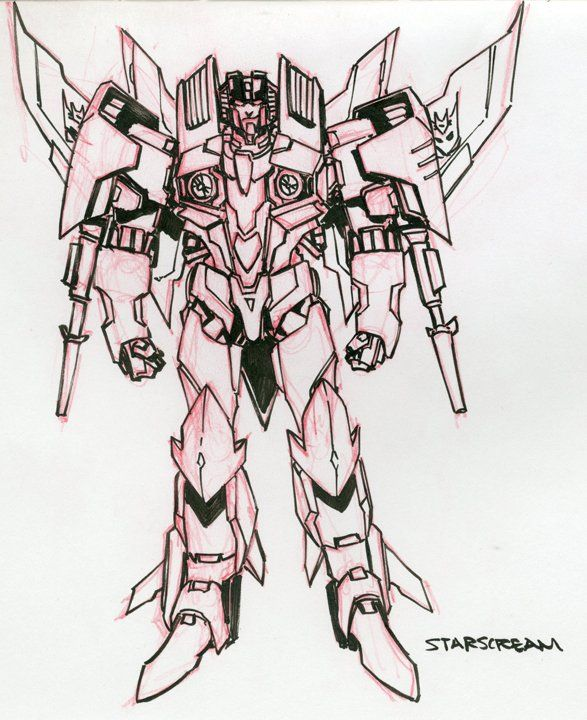 IDW Rom VS. Transformers: Shining Armor Character Design Sketches - Transformers News - TFW2005