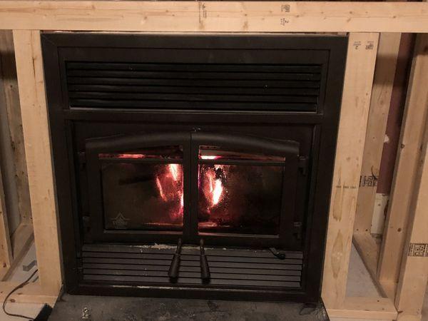 Flame Monaco Epa Zero Clearance Wood Burning Fireplace Zero