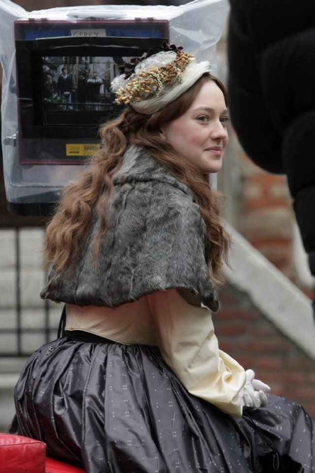 Effie starring Dakota Fanning and Emma Thompson. The movie centers on the marriage of John Ruskin and Effie Gray.