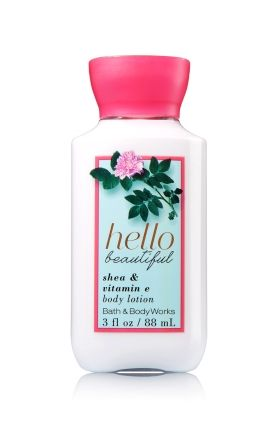 HELLO BEAUTIFUL TRAVEL SIZE BODY LOTION - Signature Collection - Bath & Body Works