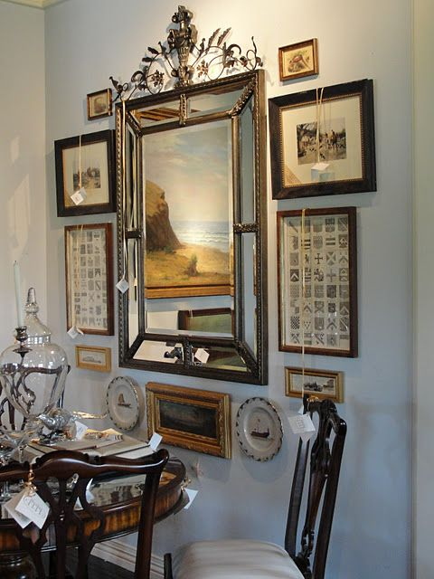 15 Best Creative Mirror And Wall Arrangements Images On