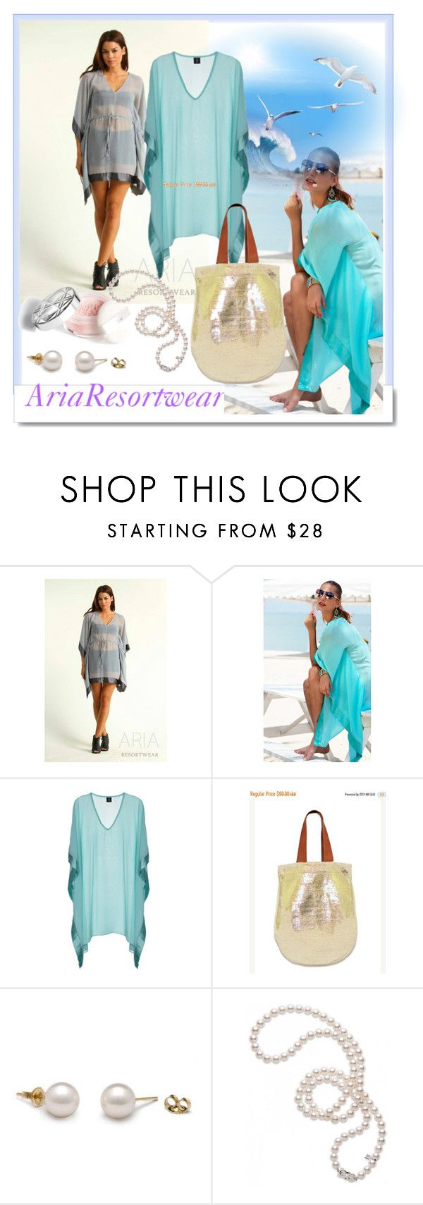 """""""AriaResortwear 8"""" by rose-99 ❤ liked on Polyvore featuring White Label and Mikimoto"""
