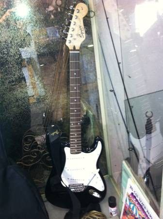 Nice Fender Squier Strat Electric Guitar - $125