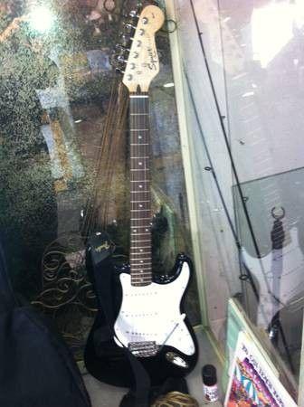 Nice Fender Squier Strat Electric Guitar - $125