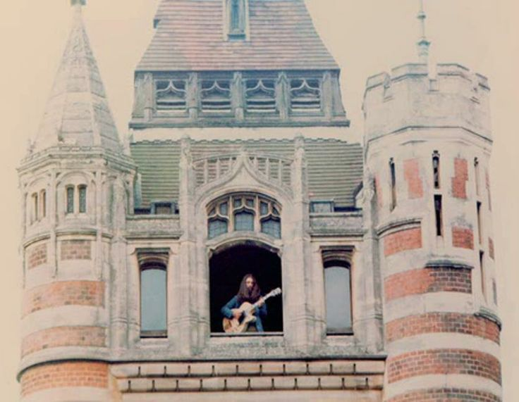 George Harrison (at his home in Friar Park)