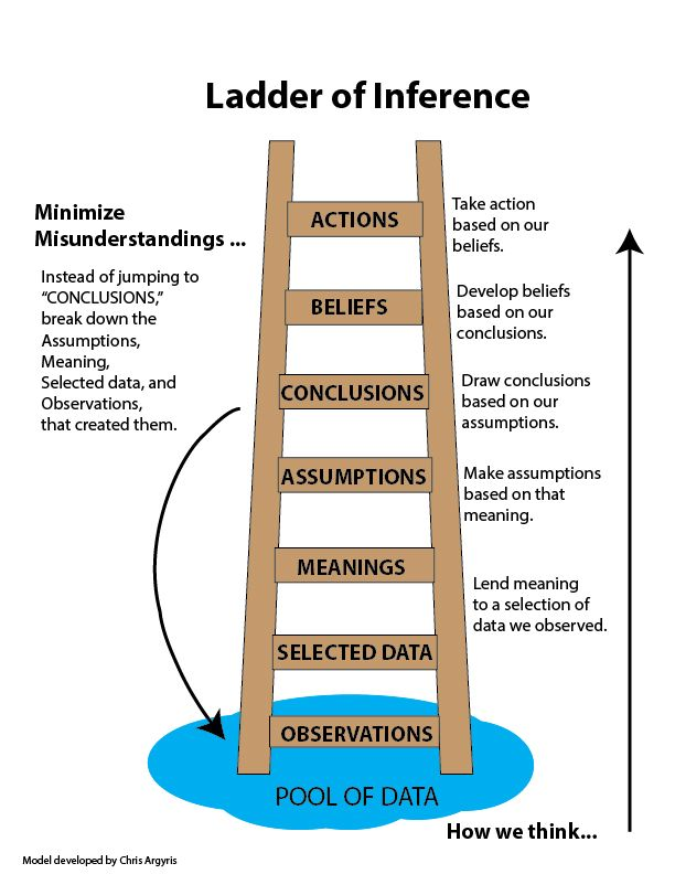 ladder of inference essay