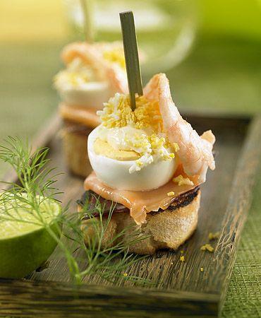 Montadito de jamón ibérico y salmón ahumado | Delicooks | Good Food Good Life