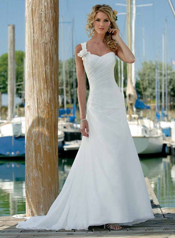440 best wedding dresses images on pinterest wedding frocks beach casual wedding dress junglespirit Images