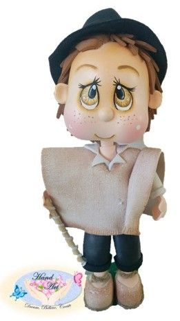 Fofucho Campesino Boyacense Colombia. 20 cm  ideal for a gift.