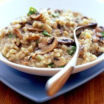 Tonight's tea : Mushroom Risotto