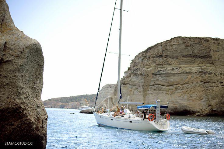 S/Y POLICOS in Kleftiko  www.polco-sailing.com