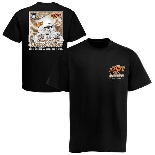 Oklahoma State Cowboys 2014 Cotton Bowl Bound Youth T-Shirt - Black - $9.99