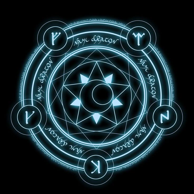 Nami Dragon's Magic Circle by ~NamiDragon on deviantART