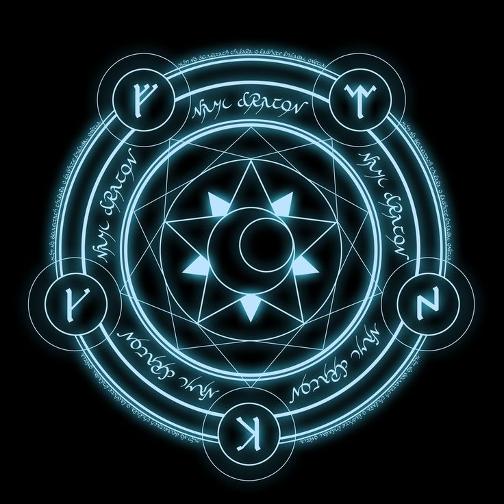 Nami Dragon's Magic Circle by NamiDragon.deviantart.com on @deviantART