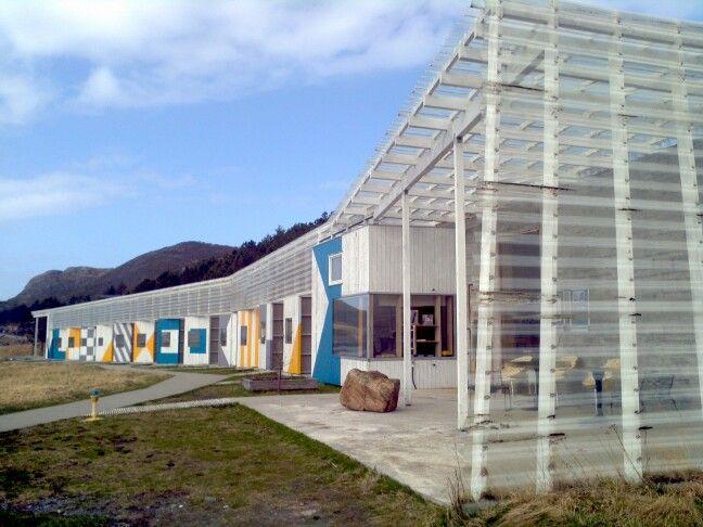 Stokkoya resort, Norway. Refreshing architectural design