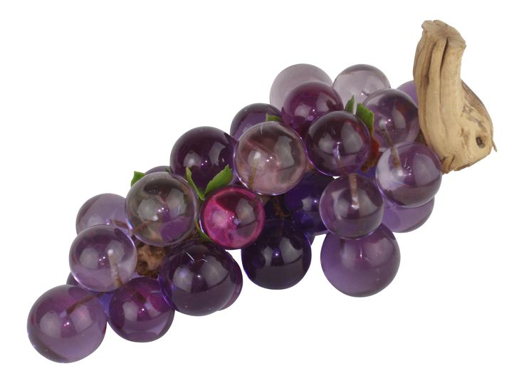 Mid-Century Purple Lucite Grape Cluster on Chairish.com