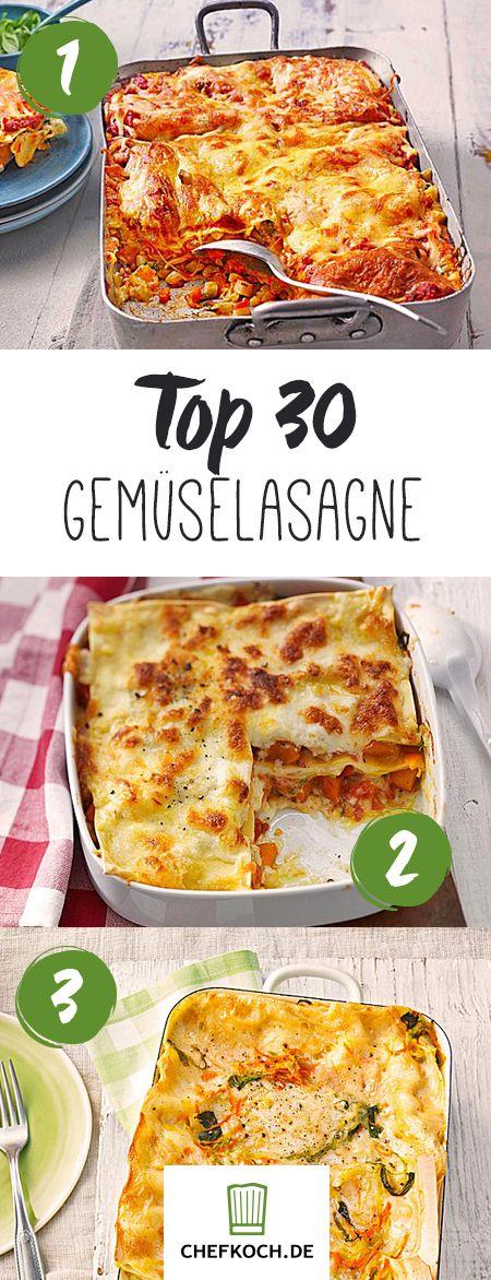 Gemüselasagne: gesunde Pasta für jeden Tag