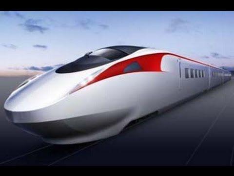 TRAIN     SHINKANSEN     PASSING   IN    JAPAN