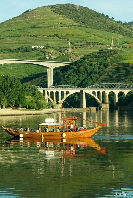 Pontes no Peso da Régua - Portugal