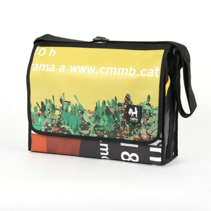 Vaho Turns Old Advertising Banners Into Chic Recycled Bags