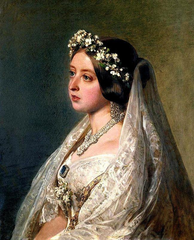 Franz Xaver Winterhalter, Queen Victoria bride