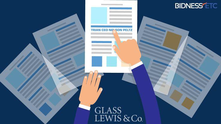 Advisory Firm Glass Lewis Endorses Trian CEO Nelson Peltz For E I Du Pont De Nemours And Co Board