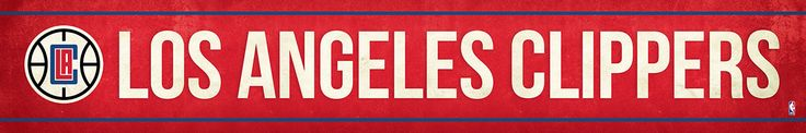 Los Angeles Clippers Street Banner $19.99