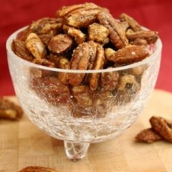 Chai-Spiced Mixed Nuts ~ all the flavors of chai tea in a crunchy little nibble.