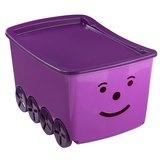 Förvaringsbox SMILEY B40xL60xH35cm rosa.