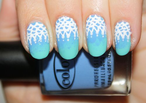74 best nail art images on pinterest nail scissors nail art ombre lace nail danielle and jenny from polish you pretty create a nail deisgn inspired by the chanel resort 2013 collection prinsesfo Choice Image