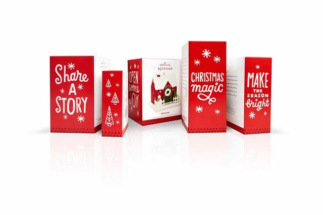 #Hallmark New Identity #Christmas #Packaging